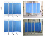 Aço inoxidável Enfermaria Ecrã articulável mobília hospitalar (SLV-E4005)