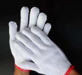 Пвх пунктирной руки защитные перчатки труда в Гуанчжоу