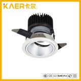 スプレーの白く黒い内部のリングの穂軸LEDの壁の洗濯機13W
