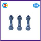 Noci/viti cape esagonali galvanizzate Steel/4.8/8.8/10.9 del carbonio per gli apparecchi elettrici
