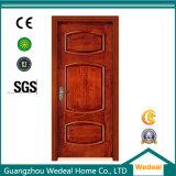 Weiße angestrichene Panel-Tür der Schnitt-Riss-festes Holz-Eichen-2