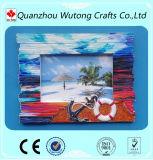 Домашняя декоративная Handmade рамка фотоего смолаы квадрата сувенира печатание