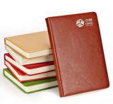 Cahier en cuir de livre À couverture dure d'unité centrale avec l'estampage chaud