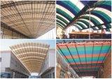 Strato di plastica di applicazione del materiale da costruzione per la copertura per tetti