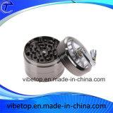 Amoladora al por mayor de la hierba de la trituradora de la aleación del metal de las gradas del Portable 4