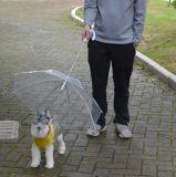 De openlucht Paraplu van de Hond van de Paraplu van het Huisdier van de Kleur van de Regen Transparante