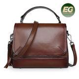 Meilleure vente designer de mode femme Gradient élégant sac à main en cuir véritable Lady Handbag Emg5028