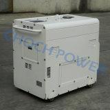 3kw 5kw 6kw 7kwの無声防音の空気涼しい携帯用発電機、無声発電機