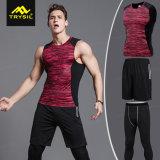 Ghette delle parti superiori di serbatoio delle camice degli abiti sportivi di modo degli uomini