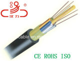 Faisceau desserré central du câble fibre optique 2-144 du tube GYTA/câble d'ordinateur/câble de caractéristiques/câble de transmission/câble/connecteur sonores