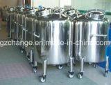 el tanque de almacenaje del acero inoxidable con estándar del GMP