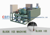 5 tonnellate di ghiaccio di macchina del blocco per Commerical hanno usato