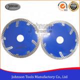 105-230mm sinterizzato la lama per sega, lamierine di taglio della pietra del diamante del Gu Turbo per granito