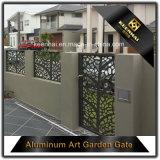 Correderas de metal perforado de corte láser de la puerta del jardín