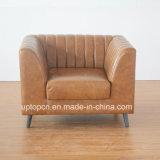 (SP-HC584) Hotel personalizzato del cuoio del sofà della mobilia della Cina liberamente singolo