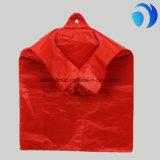 HDPE 플라스틱 명확한 색깔 t-셔츠는 주문 인쇄를 자루에 넣는다