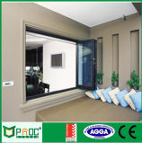 Windows di alluminio Windows Bifold di alluminio che piega Windows Pnoc0018bfw