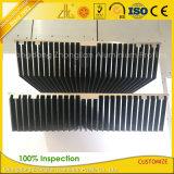 알루미늄 공장 6061 6063 산업 알루미늄 밀어남 열 싱크
