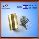 25 mícrons de espessura em folha de alumínio blister para embalagem de Medicina