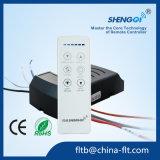 Дистанционное управление светильника вентилятора DC RF 2 каналов