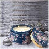 Candela naturale di lusso della soia, candela domestica della soia della decorazione