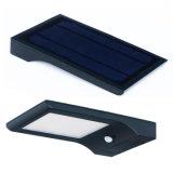 4 a luz psta solar sem fio IP65 da parede da luz do sensor de movimento do diodo emissor de luz dos lúmens 48 das modalidades 850 Waterproof a luz ao ar livre