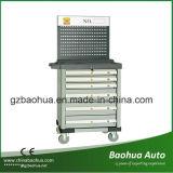 Herramienta de Gabinete / caja de herramienta de aleación de aluminio con Pegboard Fy-806H