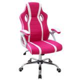 Hoher rückseitiger laufender Spiel-Metallrahmen PU-lederner Büro-Computer-Stuhl