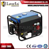 генератор газолина 380V 6.5HP 2.5kVA трехфазный малый