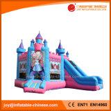 O Castelo de saltos de Princesa insufláveis para crianças (T2-500)