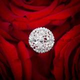 O ramalhete de cristal do casamento escolhe picaretas nupciais da jóia do ramalhete da jóia do ramalhete