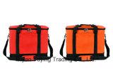 Orange Picnic Bag Organizer Cooler Tote & Shoulder Bag
