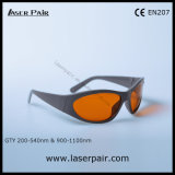 gafas de seguridad de laser de 315-540nm Dirm Lb5 y de 900-1070nm Dir Lb5 para ND 532nm y 1064nm: Protección del laser de YAG con el marco 55
