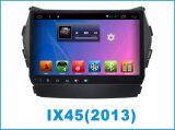 IX45のための人間の特徴をもつシステム車DVD GPSの運行の9インチのタッチ画面