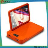 La Banca esterna sveglia portatile reale di potenza della batteria da 4000 mAh universale con lo specchio cosmetico
