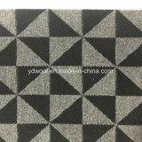 Tela triangular de las lanas de la verificación en listo