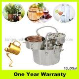 Acciaio inossidabile di vendita di Brew domestico del kit del distillatore manuale caldo dell'acqua con il barile di colpo