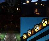 Lumières activées solaires pour la maison en plein air, paysage, jardin, clôture etc.