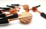 El pelo no animal suave profesional al por mayor innovó cepillo de la configuración del maquillaje de la maneta del Seashell