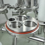 Filtres à membrane microporeuse sanitaire haute qualité en acier inoxydable de haute qualité