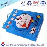Бумага Logo-Printed Hot-Sale индивидуальные подарки мешок, сумку для бумаги с помощью рукоятки