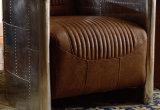 Butacas de cuero de Brown del muchacho perezoso de los muebles de la sala de estar