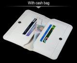 Caixa de couro luxuosa da carteira da tampa do entalhe do cartão de instrução para a nota 3 de Coolpad com 5.5 polegadas