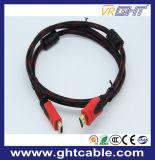 ナイロン組みひも1.4Vが付いている2m高速1080P/2160p HDMIのケーブル