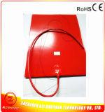 120V 800W 400*500*1.5mmの3Dプリンターのための適用範囲が広いシリコーンゴムのヒーター