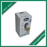 Blanco de cartón corrugado caja de embalaje para botellas