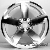 bordas Polished do carro da face 19X8.0j para Audi
