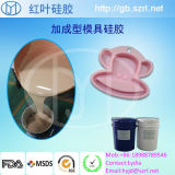 Platinum FDA Silicon com 20-40 Shore a Mold Making Silicone Rubber