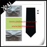 100% Silk Jacquard Tecido de seda Bow Tie Masonic Goods