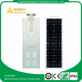 Luz de calle solar al aire libre 60W LED todo en una luz de calle solar